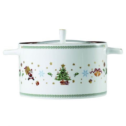 Covered Vegetable Bowl / Soup Tureen