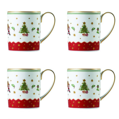My Noel Mugs (Set of 4)