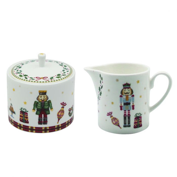 Nutcracker Sugar & Creamer Set