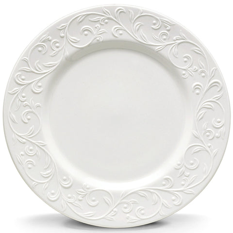 Lenox Opal Innocence Carved™ Dinner Plate Dalmazio Design