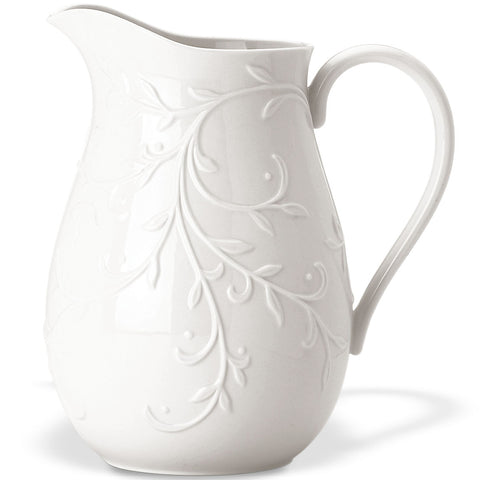 Lenox Opal Innocence Carved™ Pitcher Dalmazio Design