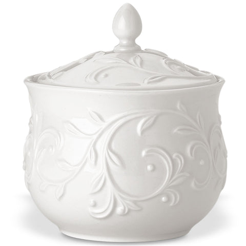 Lenox Opal Innocence Carved™ Sugar Bowl Dalmazio Design