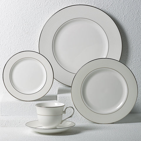 Lenox Opal Innocence Stripe™ 5-piece Place Setting Dalmazio Design
