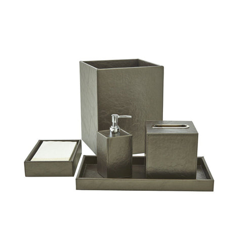 Bath Set (5pc Set), Platinum