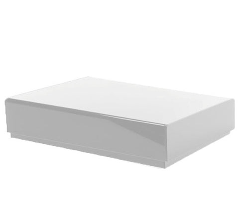 White Laminate Platform Rental