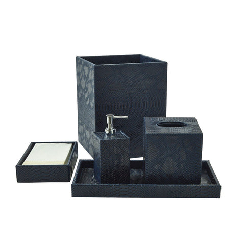 Bath Set (5pc Set), Midnight