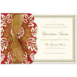 Red Pocket Personalized Invitation (Set of 50)