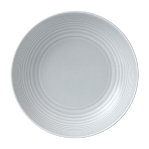 Maze Light Grey Pasta Bowl