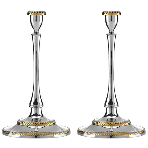 Lenox Roseland™ 2-piece Candlestick Set - LAST IN STOCK Dalmazio Design
