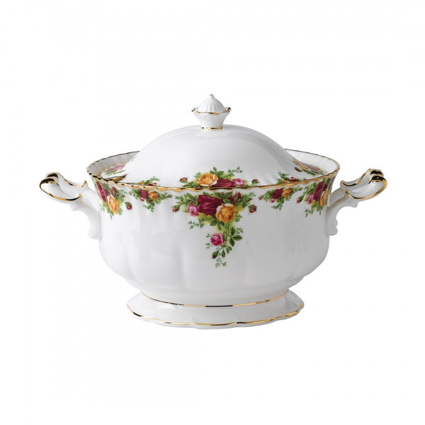 Royal Albert Old Country Roses Soup Tureen Dalmazio Design