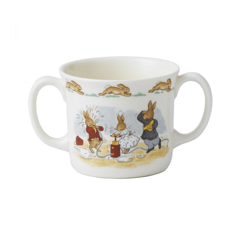 Royal Doulton Bunnykins Nurseryware 2-Handle Mug Dalmazio Design
