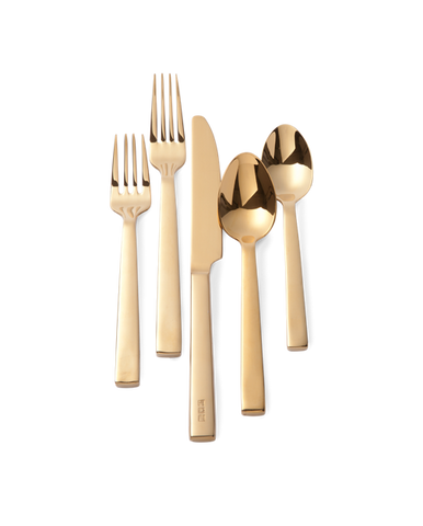 Academy 5 Piece Place Setting, Gold