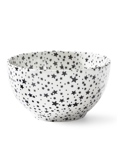 Midnight Sky Ice Cream Bowl, Light Black