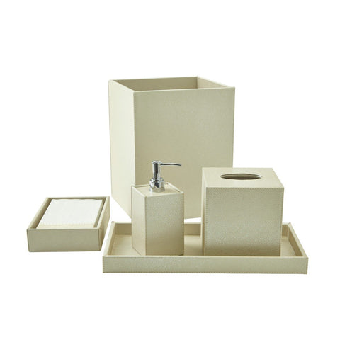Bath Set (5pc Set), Ivory
