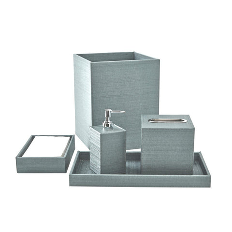 Bath Set (5pc Set), Silver