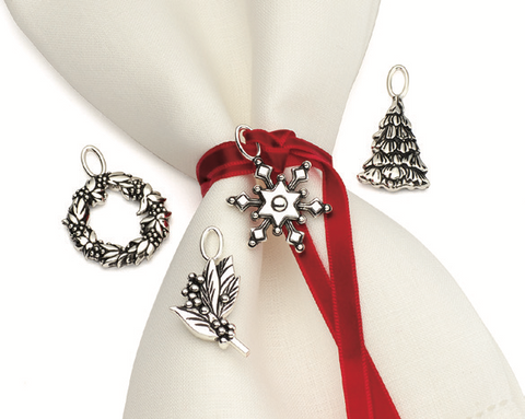 Lenox Snow Berry™ Winter Napkin Charms Dalmazio Design