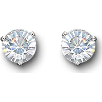Swarovski Solitaire Pierced Earrings - Dalmazio Design
