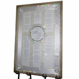 Rectangular Shadowbox Crystal Seating Chart
