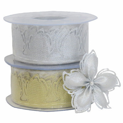 Confetti Ribbon Ariel Metallic
