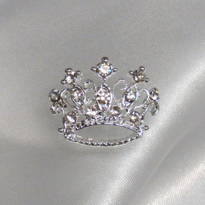 Rhinestone Accent Crown