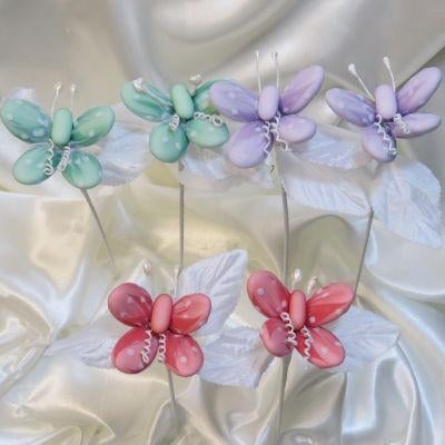 CF Butterfly With Colored Tulle