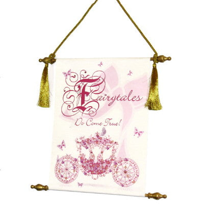 Dalmazio Design Canvas Keepsake Scroll - Fairy Tales