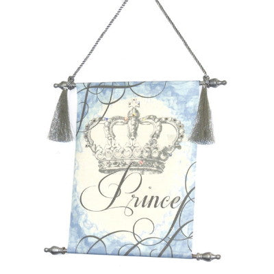 Canvas Keepsake Scroll - Crown Prince