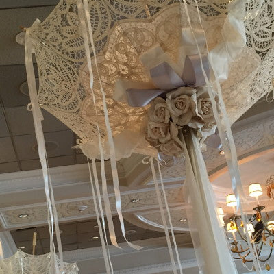 Showers of Happiness Umbrella Centerpiece Rental