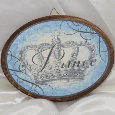 Dalmazio Design Keepsake Wooden Plaque - Prince 7x9""