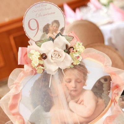 Kissing Angel Keepsake Wall Plaque Centerpiece