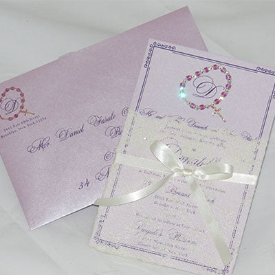 Rosario Invitation with Full Embellishment
