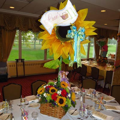 Sunflower Picnic Centerpiece