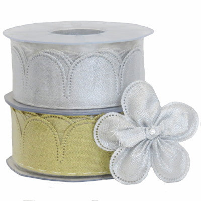 Confetti Ribbon Margherita Metallic