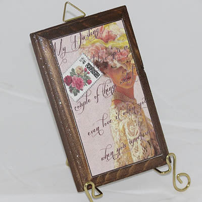 Dalmazio Design Wooden Plaque Love Letter
