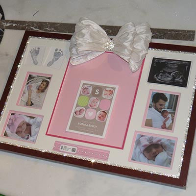 Dalmazio Design Keepsake Shadowbox 17x25 Inch