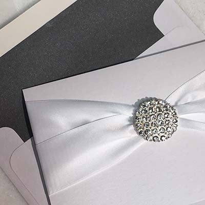 Croce di Nastri Invitation Envelope Liner