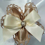 CRF Cuore Pearl + Rhinestone Accent with Bow