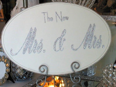 Keepsake Plaque - The New Mr(s). & Mr(s).