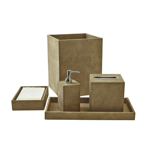 Bath Set (5pc Set), Pewter