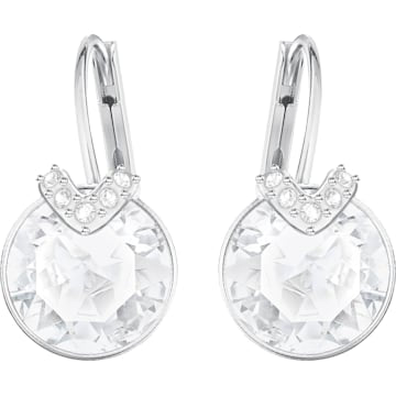 Swarovski SS Bella Pierced Earrings - Dalmazio Design