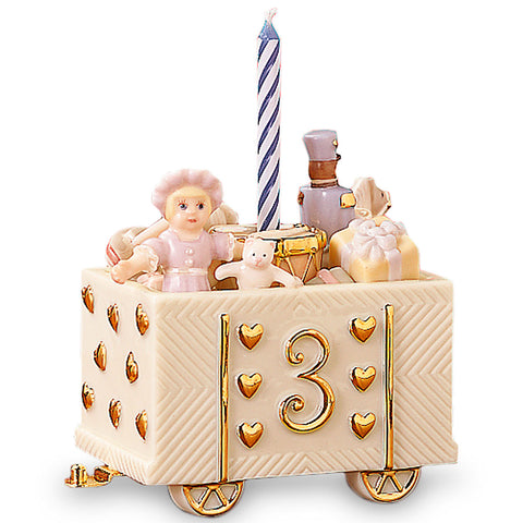 Lenox Terrific Third Birthday Car - LAST IN STOCK Dalmazio Design