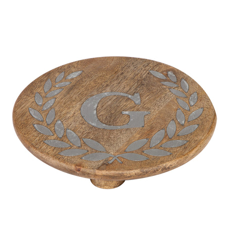 GG Collection Trivet W/Letter G Dalmazio Design