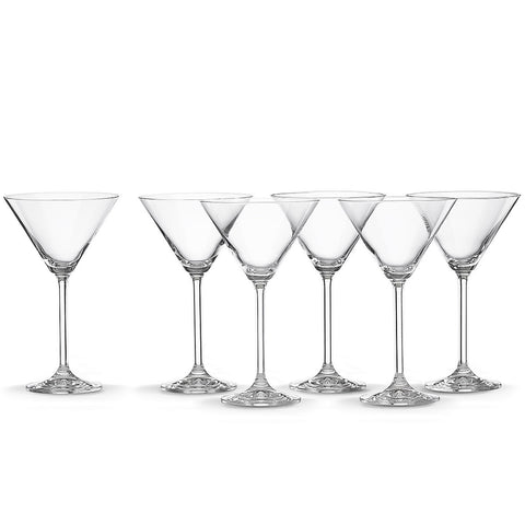 Lenox Tuscany Classics® 6-piece Martini Glass Set Dalmazio Design