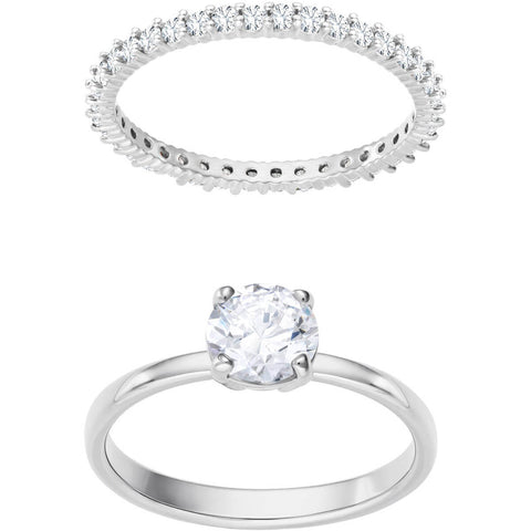 I DO:RING RND SET CZWH/RHS 58 - LAST IN STOCK- LAST IN STOCK