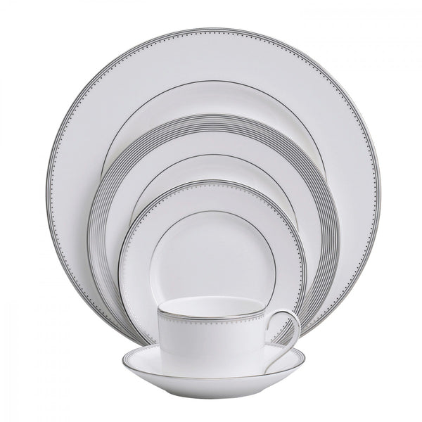 Wedgwood Grosgrain 5-Piece Place Setting Dalmazio Design