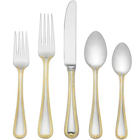 Vintage Jewel Gold® 5-piece Place Setting