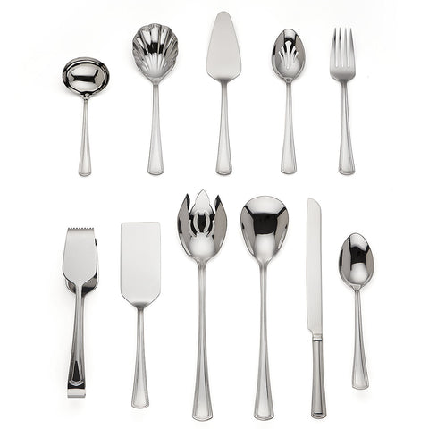 Lenox Walden 11-piece Stainless Serving Set by Reed & Barton - LAST IN STOCK Dalmazio Design