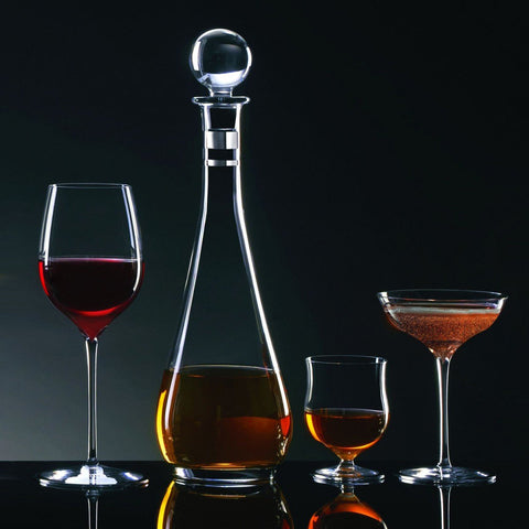 Elegance Tall Decanter with Round Stopper