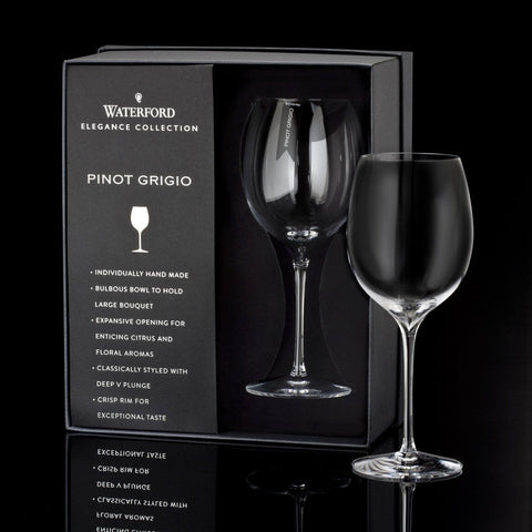 Waterford Elegance Pinot Grigio Wine Glass, Pair Dalmazio Design
