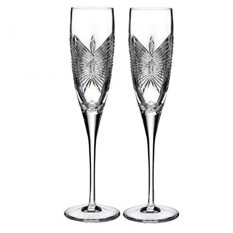 Waterford Waterford Love Happiness Flute, Pair Dalmazio Design
